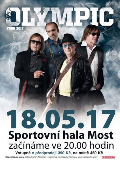 Olympic Tour 2017 Koncert | 18.5.2017 Sportovní hala Baník Most Most - Festivaly.eu