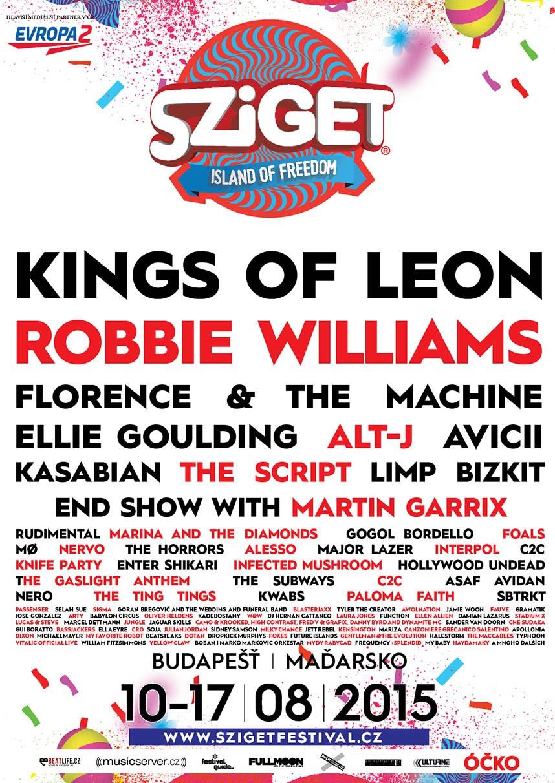 Sziget Festival 2015 Festivaly Eu