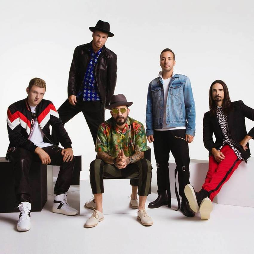 Backstreet Boys Dna World Tour Konzert 2152019 Tui Arena