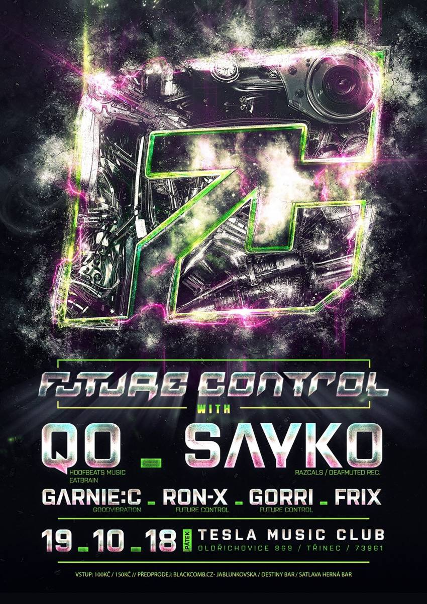 Future Control W Qo Sayko Concert 19102018 Tesla Music Club