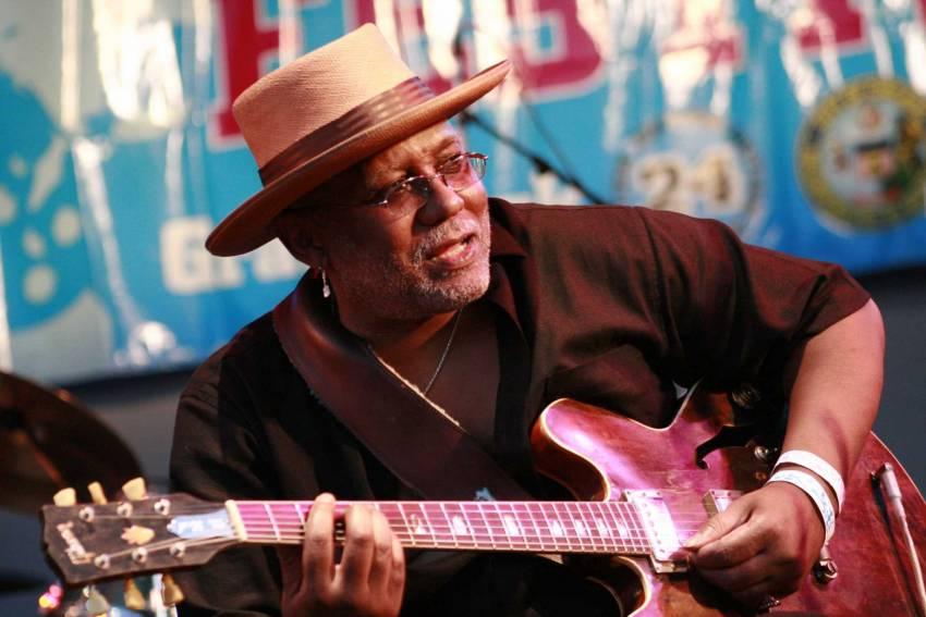 Vertigo Blues Night: Carlos Johnson + Hoodoo Band